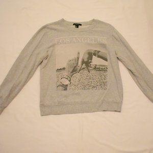 Thick Gray Sweatshirt